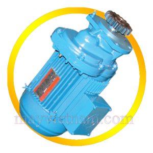 Động cơ di chuyển cầu trục B-0.75KW.